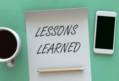 Lessons Learned in 2017